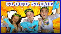 Giant Cloud Slime! How To Make Giant Cloud Slime!