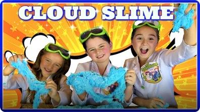 Giant Cloud Slime! How To Make Giant Cloud Slime!