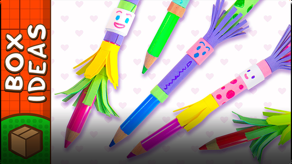 Pencil Topper People