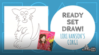 Ready Set Draw! | Lori Hanson Draws a Corgi