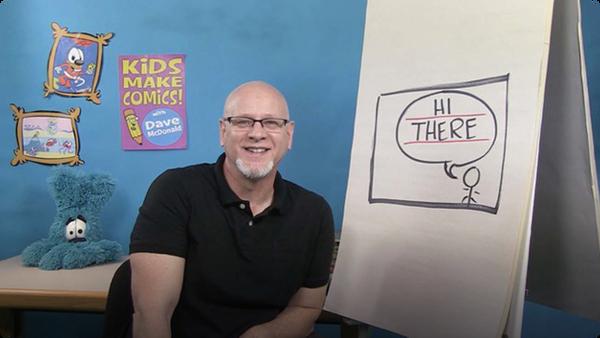 Kids Make Comics #3: Making Word Balloons!