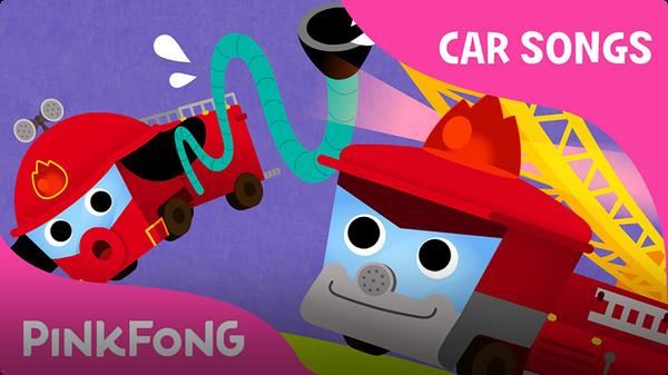Fire Truck Song | Car Songs