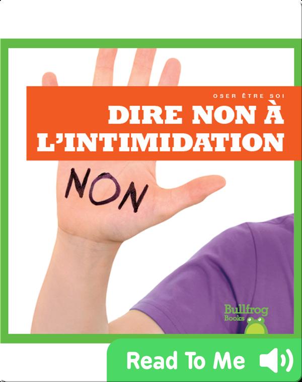 Dire non à l'intimidation