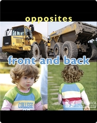 Opposites: Front and Back