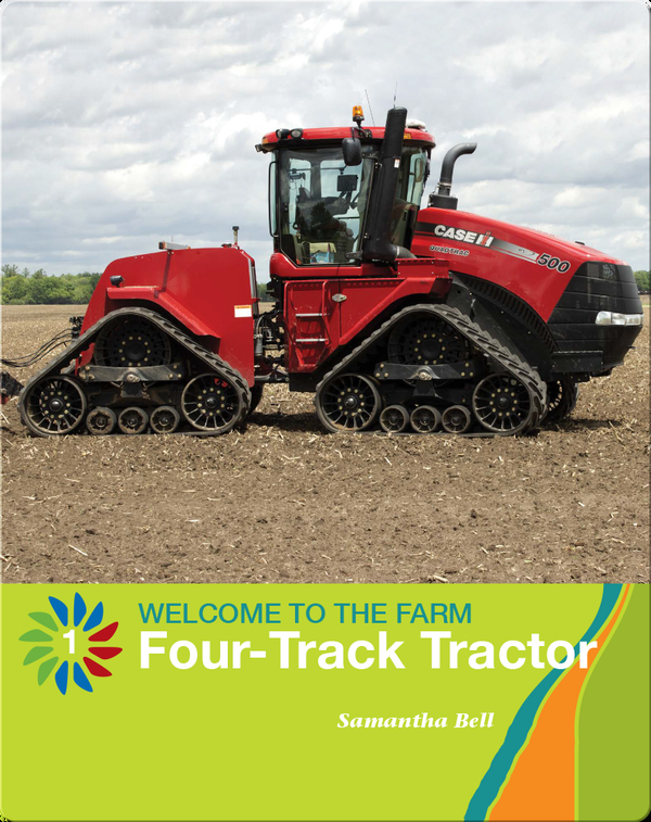 Four-Track Tractor