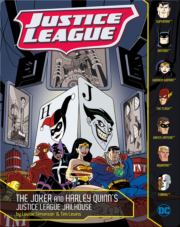 Joker and Harley Quinn's Justice League Jailhouse