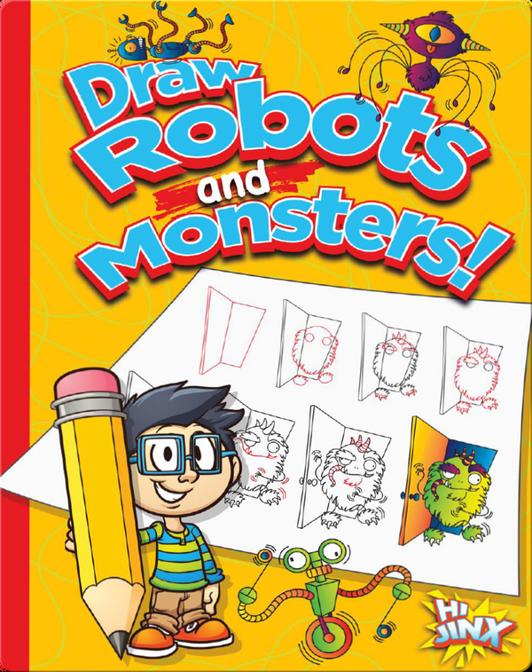 Draw Robots and Monsters!