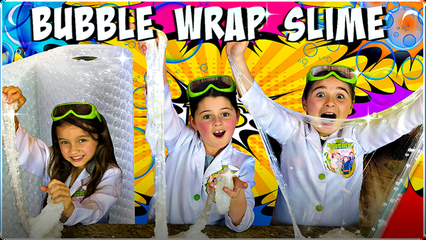 How to Make Bubble Wrap Slime!