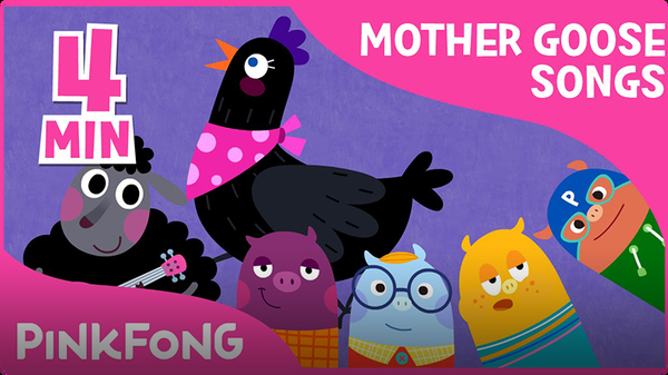 Three Mother Goose Nursery Rhymes