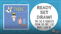 Ready Set Draw! The Cat and Hamster from THE ABCs OF WHAT I CAN BE