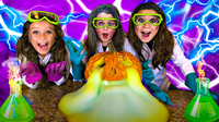 Oozing PUMPKIN Experiment   Easy Science Experiments for Kids