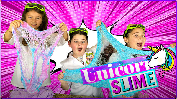 How to Make Magical Unicorn Slime with Tiny Foam Beads!