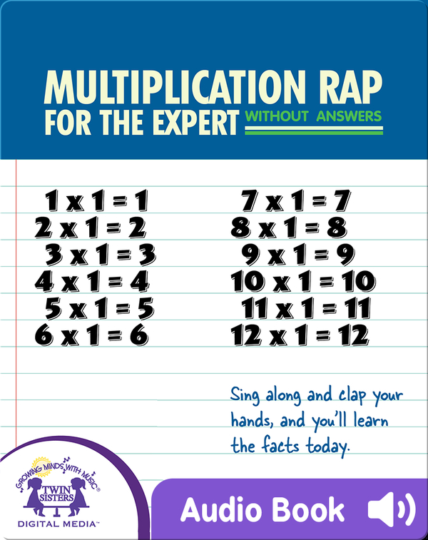 Multiplication Rap For The Expert Without Answers