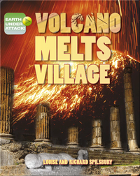 Volcano Melts Village