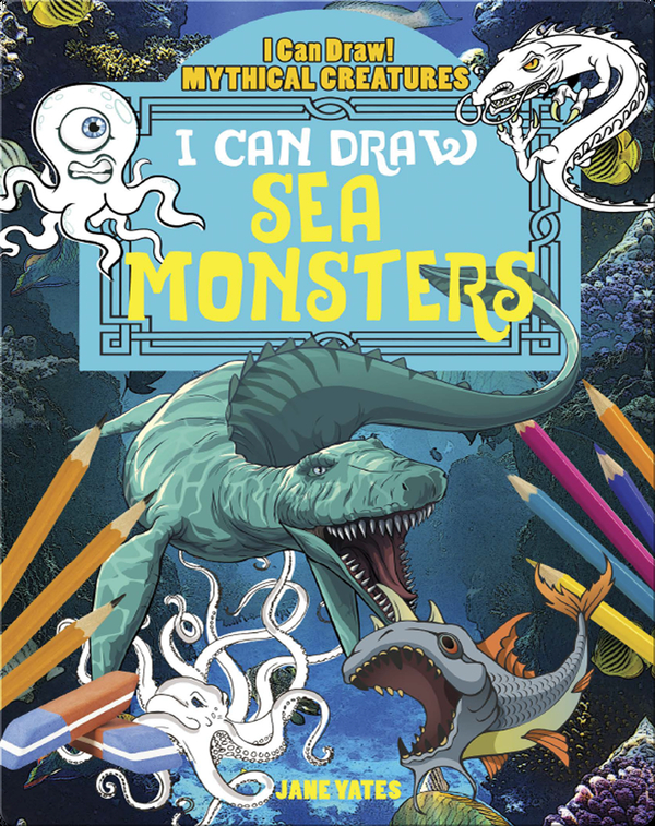I Can Draw Sea Monsters