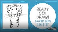 Ready Set Draw: I am a Cat
