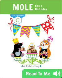Mole has a Birthday