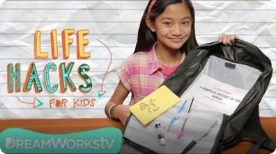 3 Hacks To Get You ORGANIZED | LIFE HACKS FOR KIDS