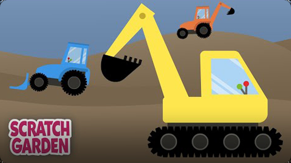 The Diggers Song | Construction Vehicle Song