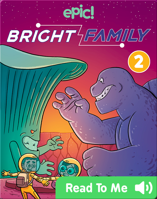 Bright Family Book 2: Planet of the Kaiju