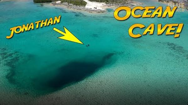 Jonathan Bird's Blue World: Ocean Cave Discovery!