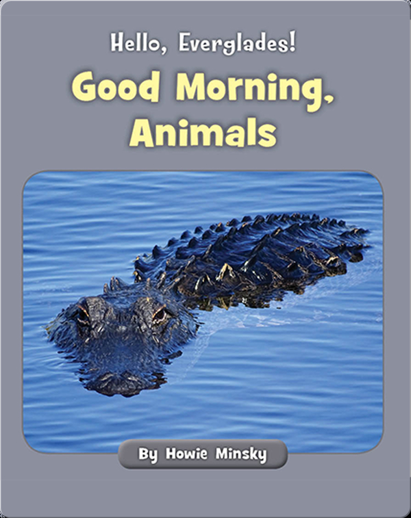 Hello, Everglades!: Good Morning, Animals