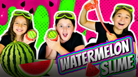 DIY Watermelon SLIME! BEST Slime Recipe for Kids!