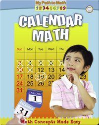Calendar Math (My Path to Math)