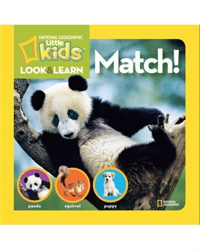 National Geographic Little Kids Look and Learn: Match!