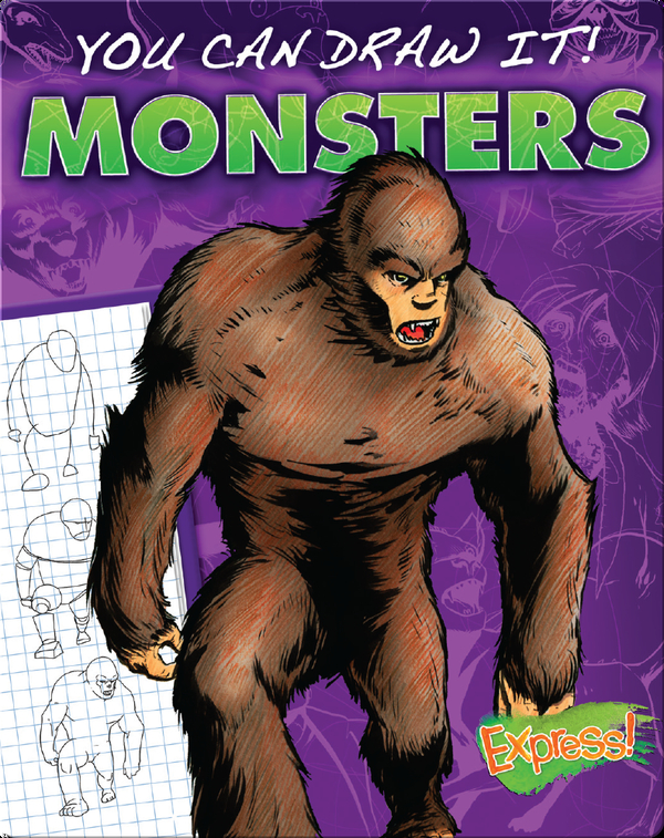 You Can Draw It! Monsters