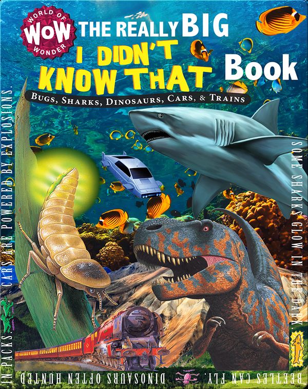 The Really Big I Didn't Know That Book: Bugs, Sharks, Dinosaurs, Cars, & Trains