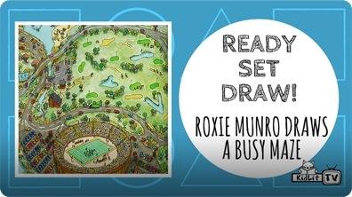 Roxie Munro Draws an AMAZING MAZE