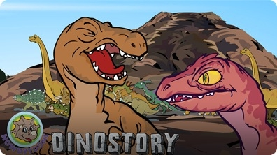 Dinosaurs Are Drinking by the River (Dinostory #5)