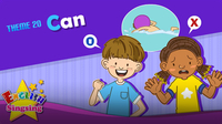 Can - Present Tense