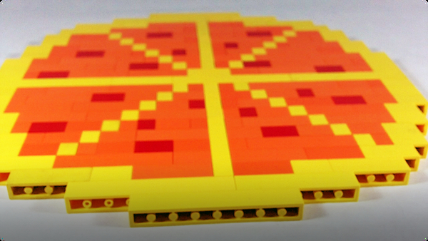 How To Build LEGO Pizza