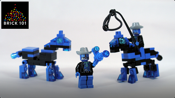 How To Build LEGO Cowboybots