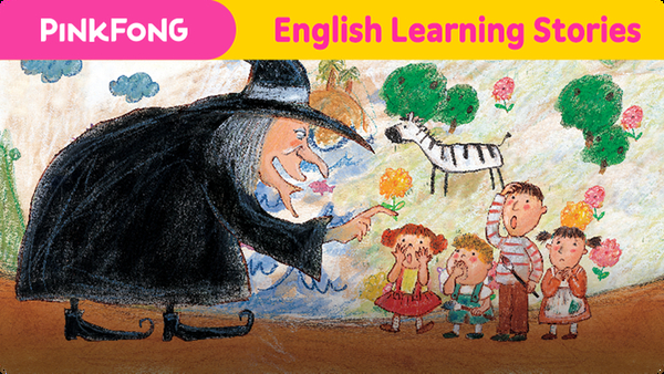 The Witch's Wall (English Learning Stories)