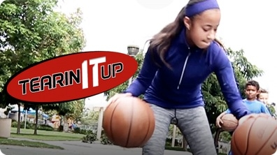 11-Year-Old Basketball Prodigy Jaden Newman Sick Crossover | TEARIN' IT UP