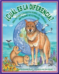 ¿Cuál es la diferencia? Una historia con restas sobre los animales en peligro de extinción
