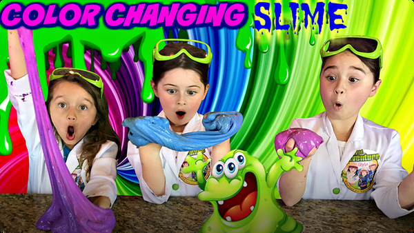 HEAT ACTIVATED SLIME!  How to Make Color Changing Slime