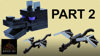 How To Build LEGO Minecraft Ender Dragon (Part 2)