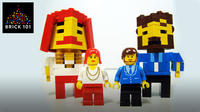 How To Build LEGO Newscasters Phil and Sherry