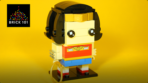 How To Build LEGO Wonder Woman