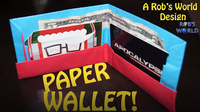 How to Make an Easy Paper Wallet (Origami)