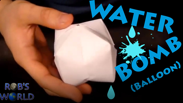 How to Make a Paper Balloon (Water Bomb)