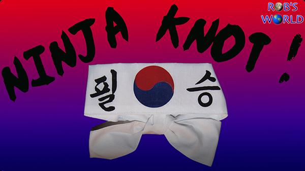 How to Tie the Ninja Knot (Ian's Knot) – World's Fastest!
