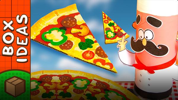 Make The Best Cardboard Pizza Ever