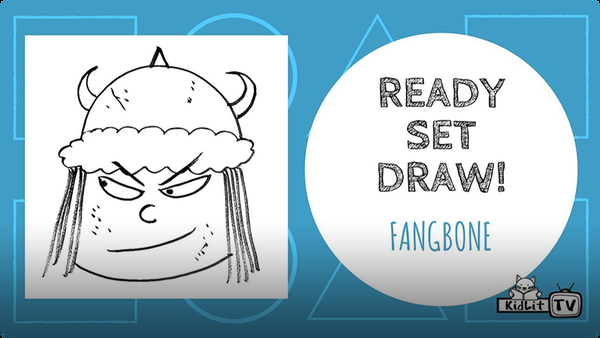 Ready Set Draw! | How to Draw FANGBONE with Michael Rex