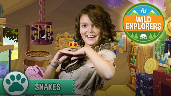 Cami Meets a Snake