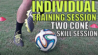 Two Cone Skill Session - Improve Touch Quick
